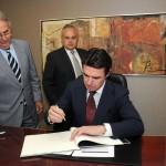 04-Visita Ministro de Industria, Energía y Turismo a la CCE