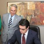 Visita Ministro de Industria, Energía y Turismo