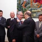 00-Sebastián Grisaleña, condecorado con la Insignia de Honor en el Dia de la Región de Maderia