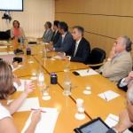 02-La CCE se reúne con la Viceconsejera de Industria y Comercio del Gobierno de Canarias