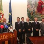 03-Sebastián Grisaleña, condecorado con la Insignia de Honor en el Dia de la Región de Maderia