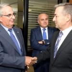 01-El Presidente y el Secretario General de Coalición Canaria se reúnen con la Junta Directiva