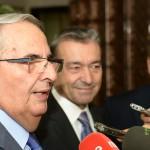 02-El Presidente y el Secretario General de Coalición Canaria se reúnen con la Junta Directiva