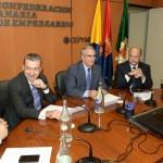 03-El Presidente y el Secretario General de Coalición Canaria se reúnen con la Junta Directiva