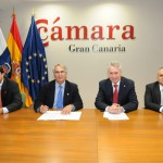 00-La CCE y la Cámara de Comercio de Gran Canaria firman un convenio para difundir la mediación mercantil entre las Empresas