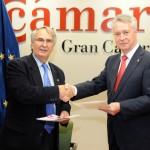 01-La CCE y la Cámara de Comercio de Gran Canaria firman un convenio para difundir la mediación mercantil entre las Empresas