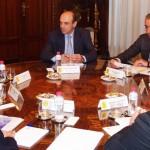 Reunión entre los empresarios canarios con el Secretario de Estado de Hacienda D. Miguel Ferre