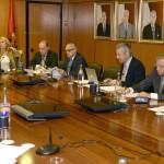 Junta Directiva Extraordinaria con la presencia de representantes del Grupo Parlamentario Popular