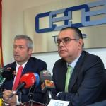 01-El Presidente de la CCE visitó la sede de CEOE-Tenerife