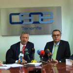 02-El Presidente de la CCE visitó la sede de CEOE-Tenerife