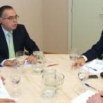 El Presidente de la CCE visitó la sede de CEOE-Tenerife