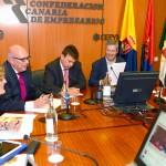 02-El presidente de la Autoridad Portuaria de Las Palmas, D. Luis Ibarra Betancort