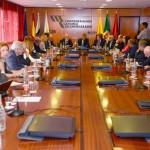 00-La Junta Directiva se reúne con Miguel Arias Cañete y Gabriel Mato