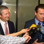 01-El candidato del Grupo Socialista  a las Elecciones Europeas Juan Fernando López Aguilar visita a nuestra Junta Directiva