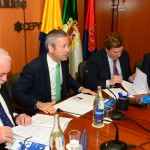 01-La Junta Directiva se reúne con Miguel Arias Cañete y Gabriel Mato