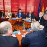 03-La Junta Directiva se reúne con Miguel Arias Cañete y Gabriel Mato