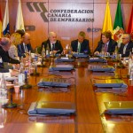 La Junta Directiva se reúne con Miguel Arias Cañete y Gabriel Mato