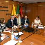 01-La Junta Directiva de la CCE se reúne con la Consejera de Empleo del Gobierno de Canarias, Excma. Sra. Dña. Francisca Luengo