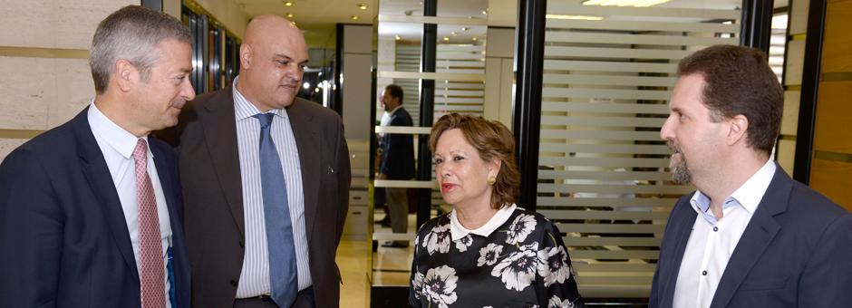 La Junta Directiva de la CCE se reúne con la Consejera de Empleo del Gobierno de Canarias, Excma. Sra. Dña. Francisca Luengo