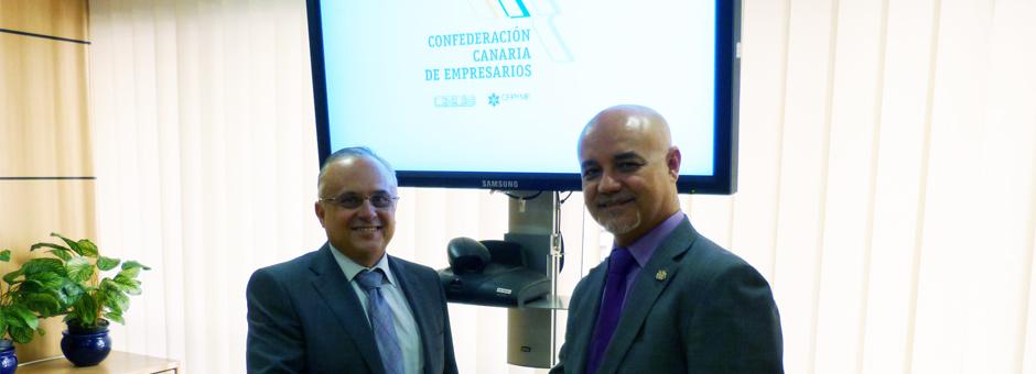 Reunión con la Asociación Empresarial Canaria de Gestores Inmobiliarios (ACEGI)
