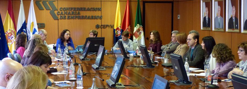 Jornada informativa sobre los certificados de profesionalidad en el nuevo escenario formativo y laboral en Canarias