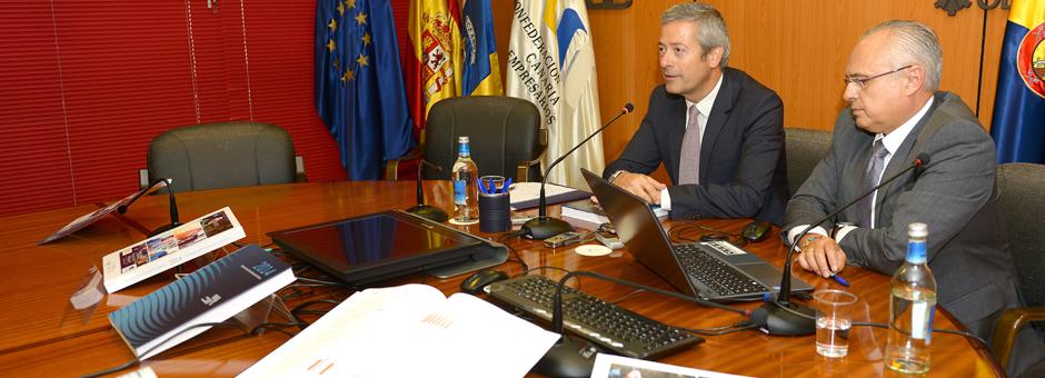 Presentación del  Informe Anual de la Economía Canaria 2014