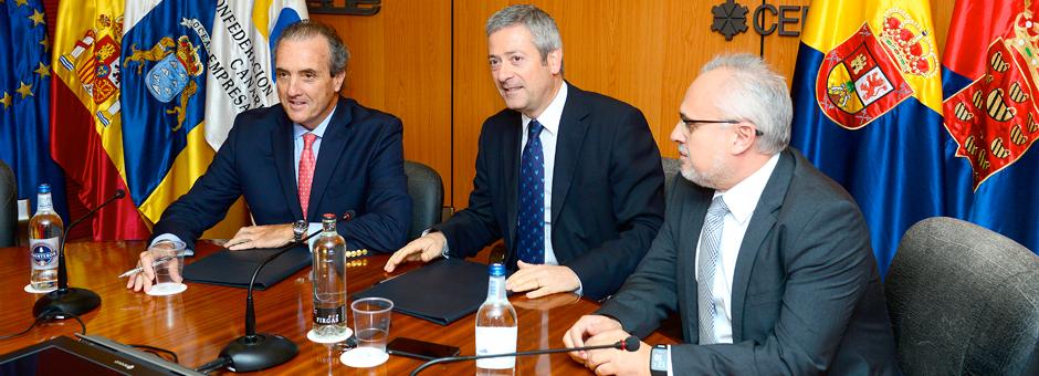 LA CCE y MAPFRE renuevan su colaboración en materia de asistencia sanitaria