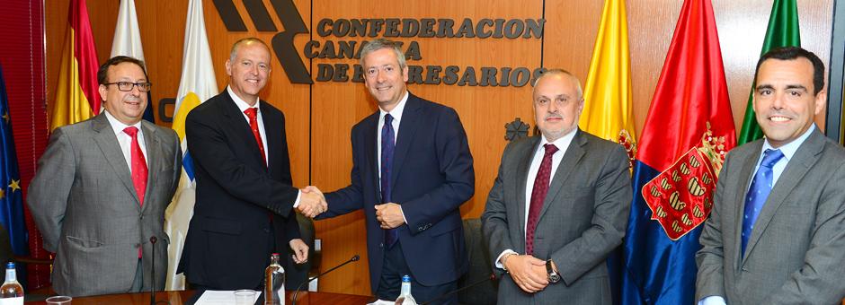 La CCE firma un convenio de colaboración con Cajasiete